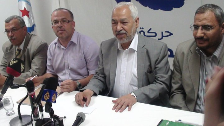 Rached Ghannouchi at Ennahda Conference