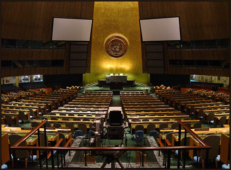 UN General Assembly,By SA, CC 3.0