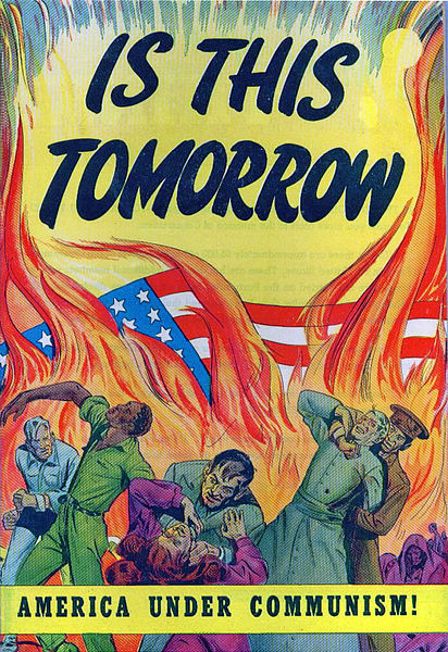 American Propaganda during the Cold War. December 31, 1946, public domain