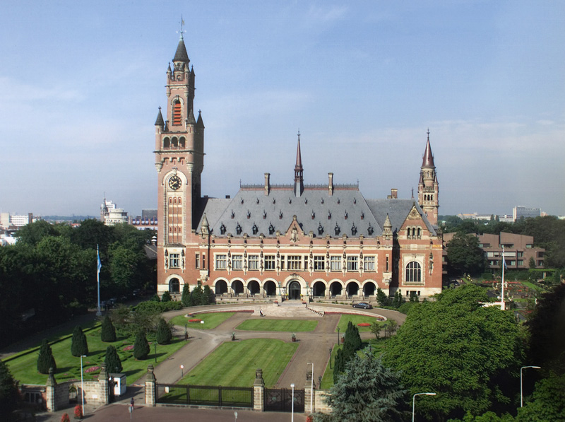 International Court of Justice, International Court of Justice; originally uploaded by Yeu Ninje, public domain