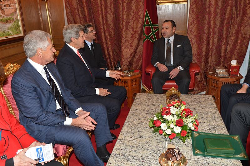 Mohammed_VI_meeting_with_John_Kerry, US State Department, public domain