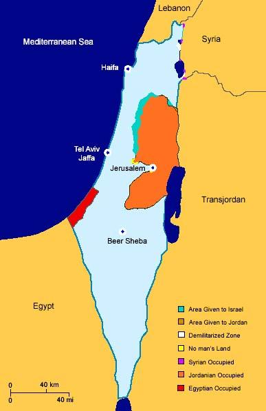 arab israeli conflict thesis