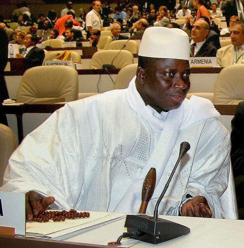 President of The Gambia Yahya Jammeh, IISD/Earth Negotiations Bulletin, CC 3.0