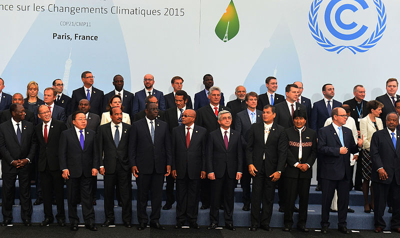 PM at COP21 in Paris, Narendra Modi, CC 2.0