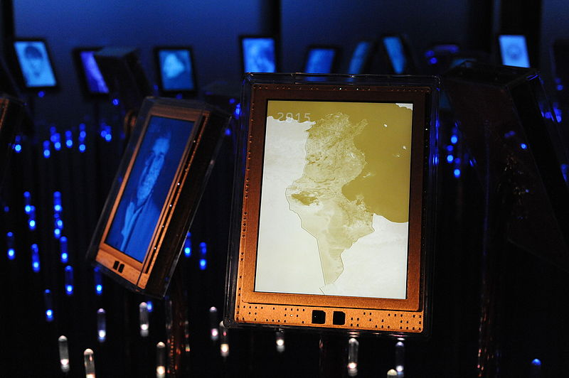 Nobel Peace Prize 2015 Laureates, Nobels garden, Nobel Peace Center, Linda Meelin, CC 4.0