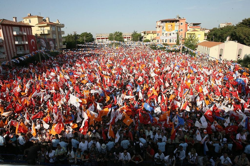 Miting of AKP, Randam, 6 July 2007.