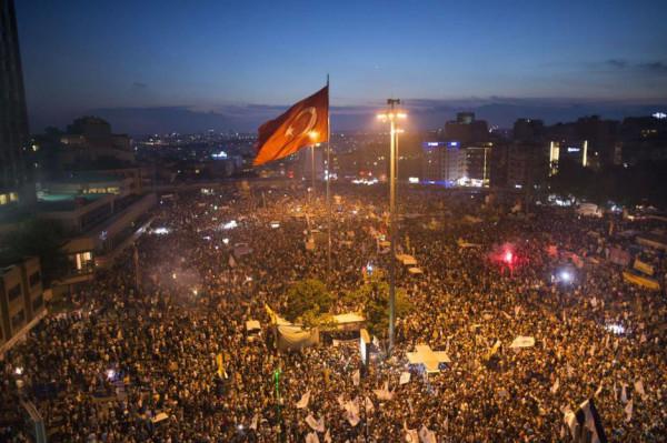 2013 Taksim Square, 15 June 2013. Fleshstrom, CC 3.0