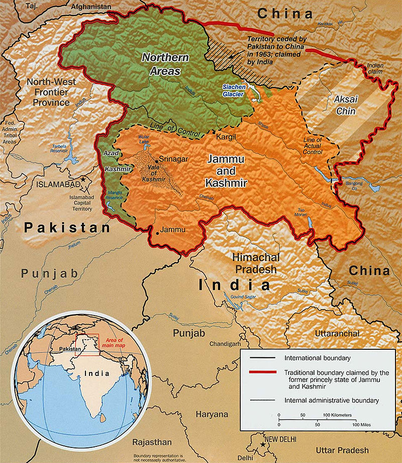 IndiaPakistan Relations - Where is pakistan